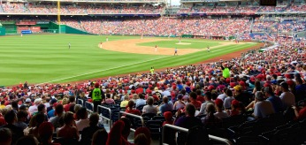 Pittsburgh Pirates vs. Washington Nationals game, 6/20/15. Max Scherzer no-hitter game.