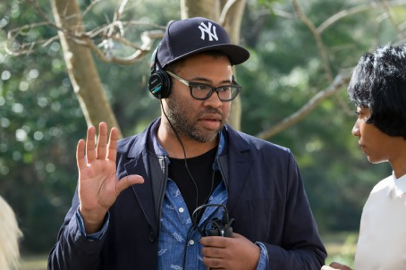 "Writer/director/producer JORDAN PEELE on the set of Universal Pictures' ""Get Out,"" a speculative thriller from Blumhouse (producers of ""The Visit,"" ""Insidious"" series and ""The Gift"") and the mind of Peele. When a young African-American man visits his white girlfriend's family estate, he becomes ensnared in a more sinister real reason for the invitation."