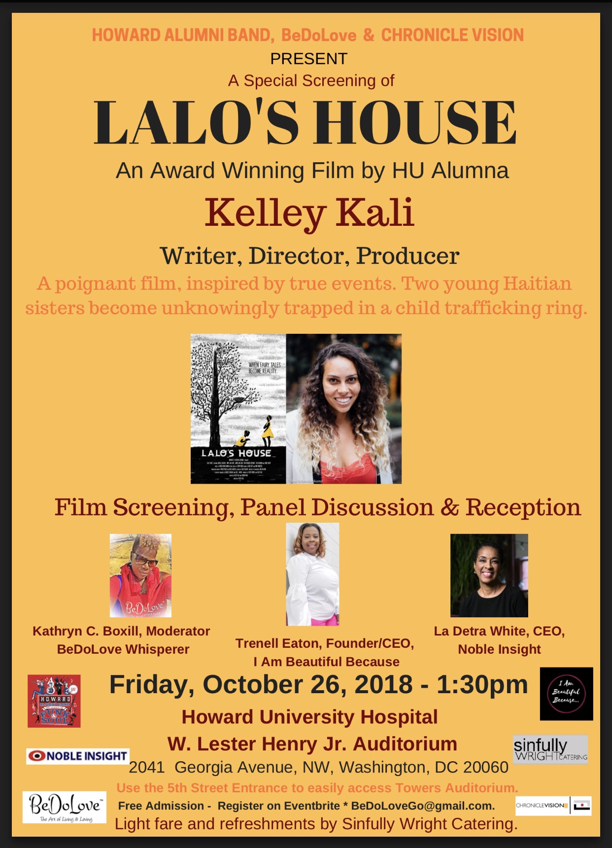 """Join Us for the Film Screening of """"Lalo's House""""   BeDoLove"""